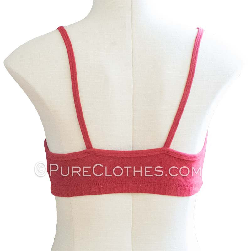 Organic Cotton Cami Bra