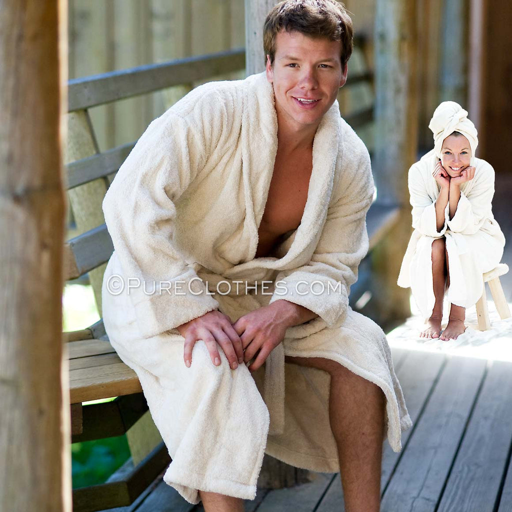 Hemp Terry Bathrobe