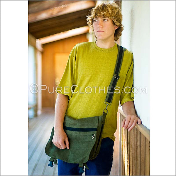 Hemp Courier Bag