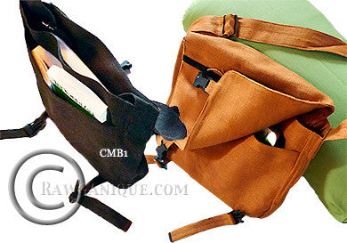 Organic European Hemp Shoulder Bag