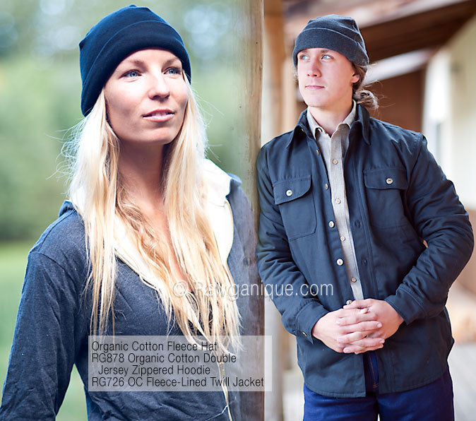 Organic Cotton Fleece Hat