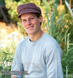 Organic European Hemp Greeh Fisherman's Hat