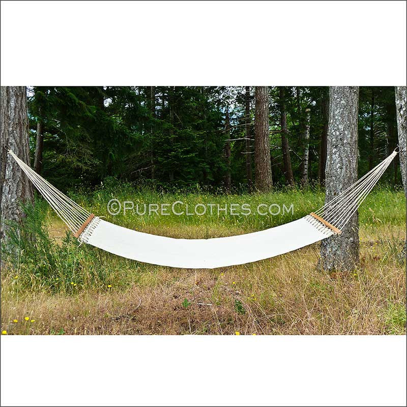 2-person Hemp Canvas Hammock