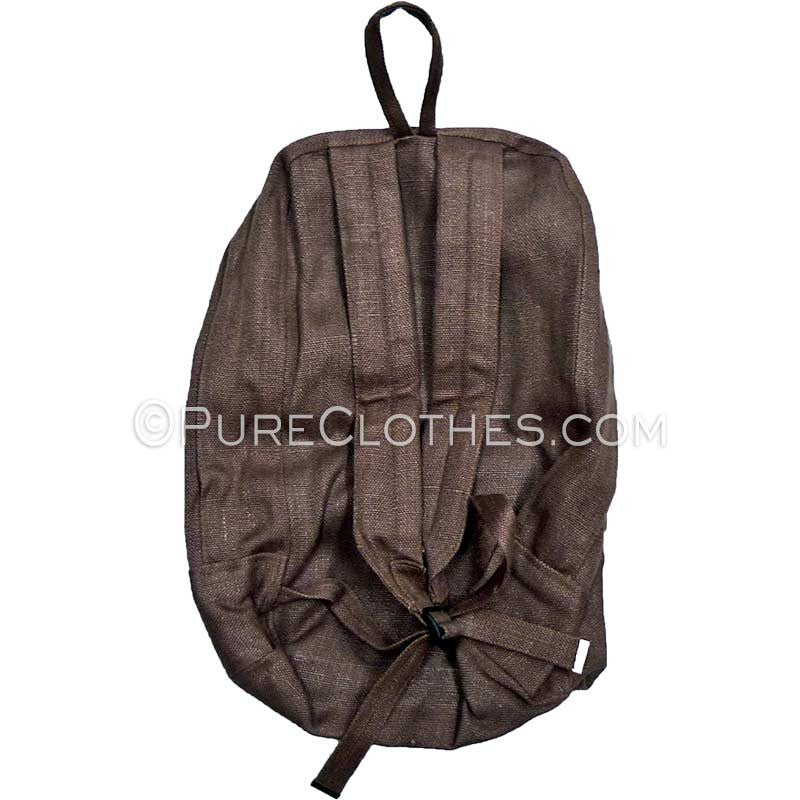100% hemp backpack