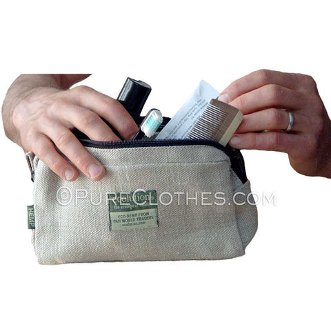 Hemp Toiletries Bag
