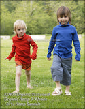 Kids' Organic Cotton Turtleneck Sweater. Made in Europe. Sweatshop-free.