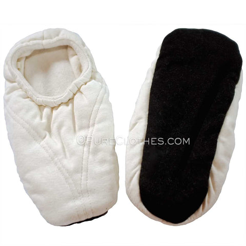 organic cotton house slippers