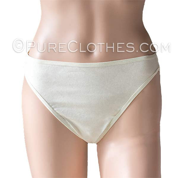 Organic Cotton High Cut Panty