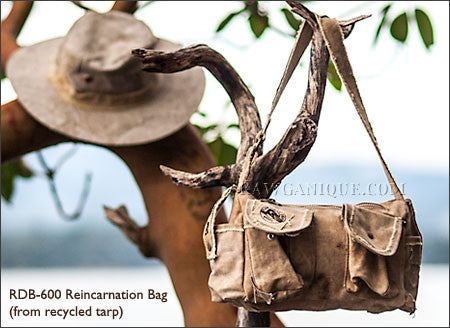 Recycled Cotton Canvas Standby Bag