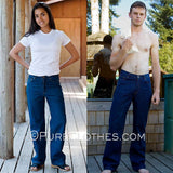 Organic Cotton Boot Cut Jeans