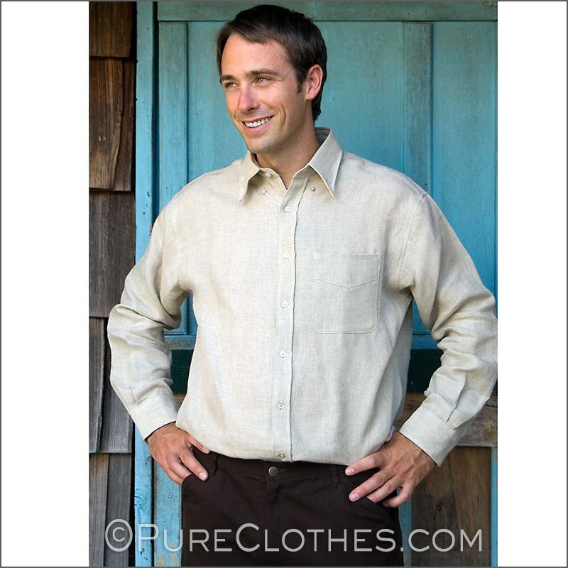 Organic Hemp Dress Shirt