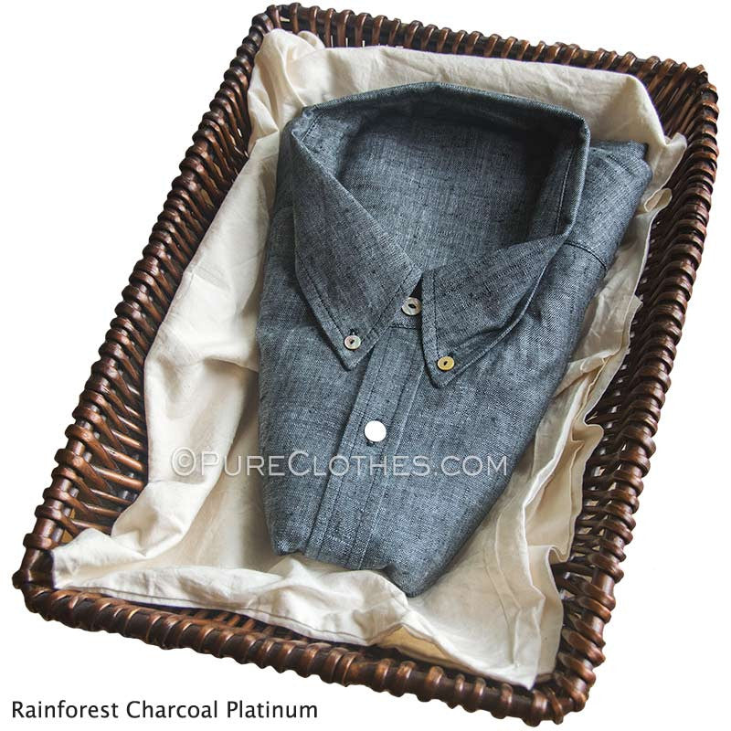 Rainforest Charcoal Platinum Grey Melange