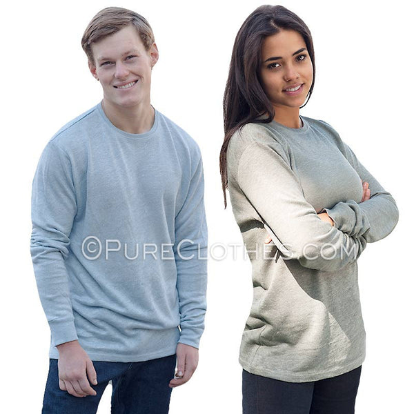 100% Hemp Long-sleeve T-shirt