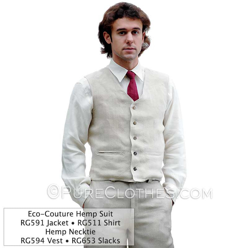Hemp Business Vest