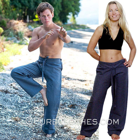 100% Hemp Karate Pants
