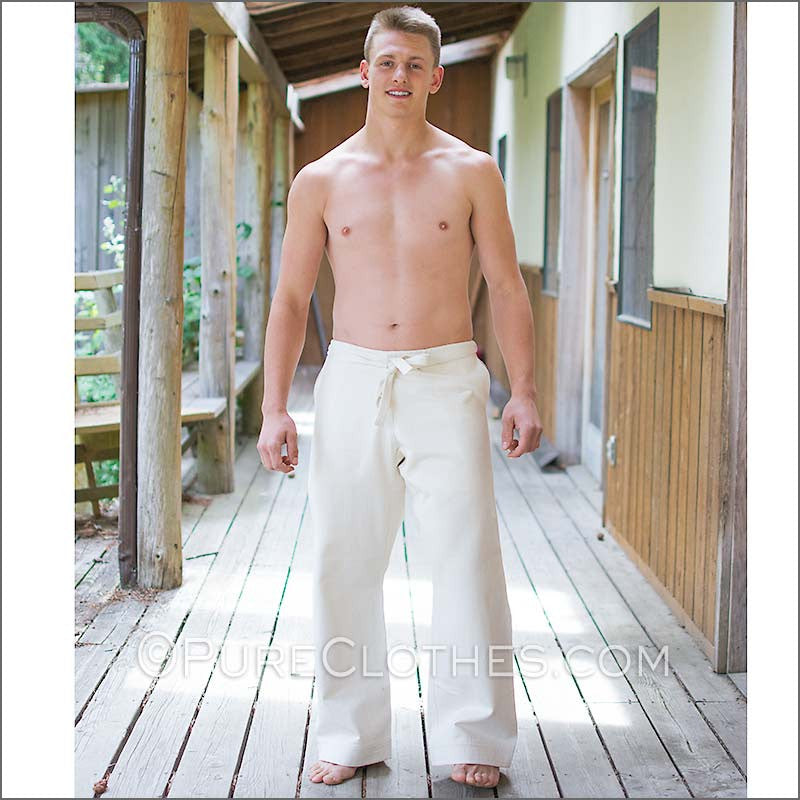 Organic Cotton Karate Pants