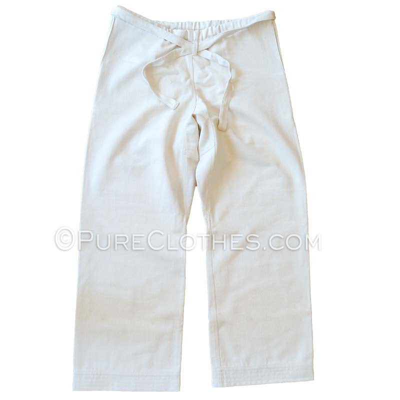 100% Organic Cotton Karate Pants
