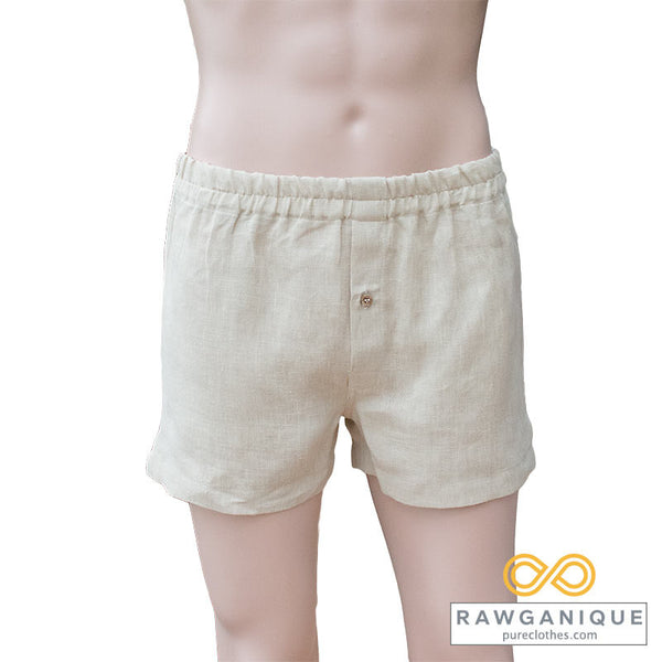 Hemp Boxers. Made in Europe. Sweatshop-free.