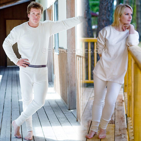 Organic Fleece Thermal Long Johns