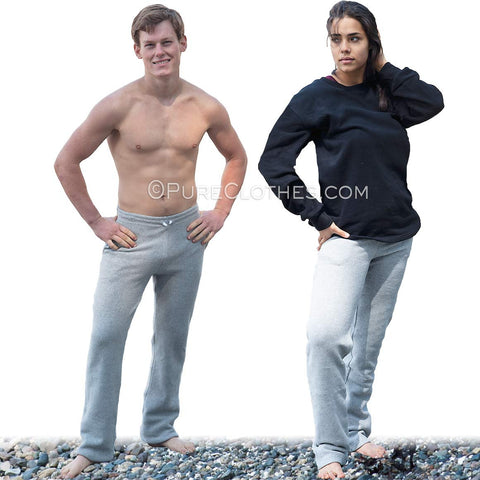 Organic Cotton Fleece Sweat Pants