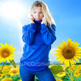 Organic Cotton Turtleneck Sweater