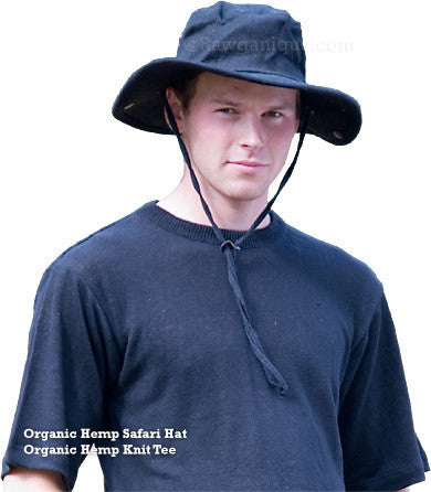 Organic European Hemp Bushwhacker Hat
