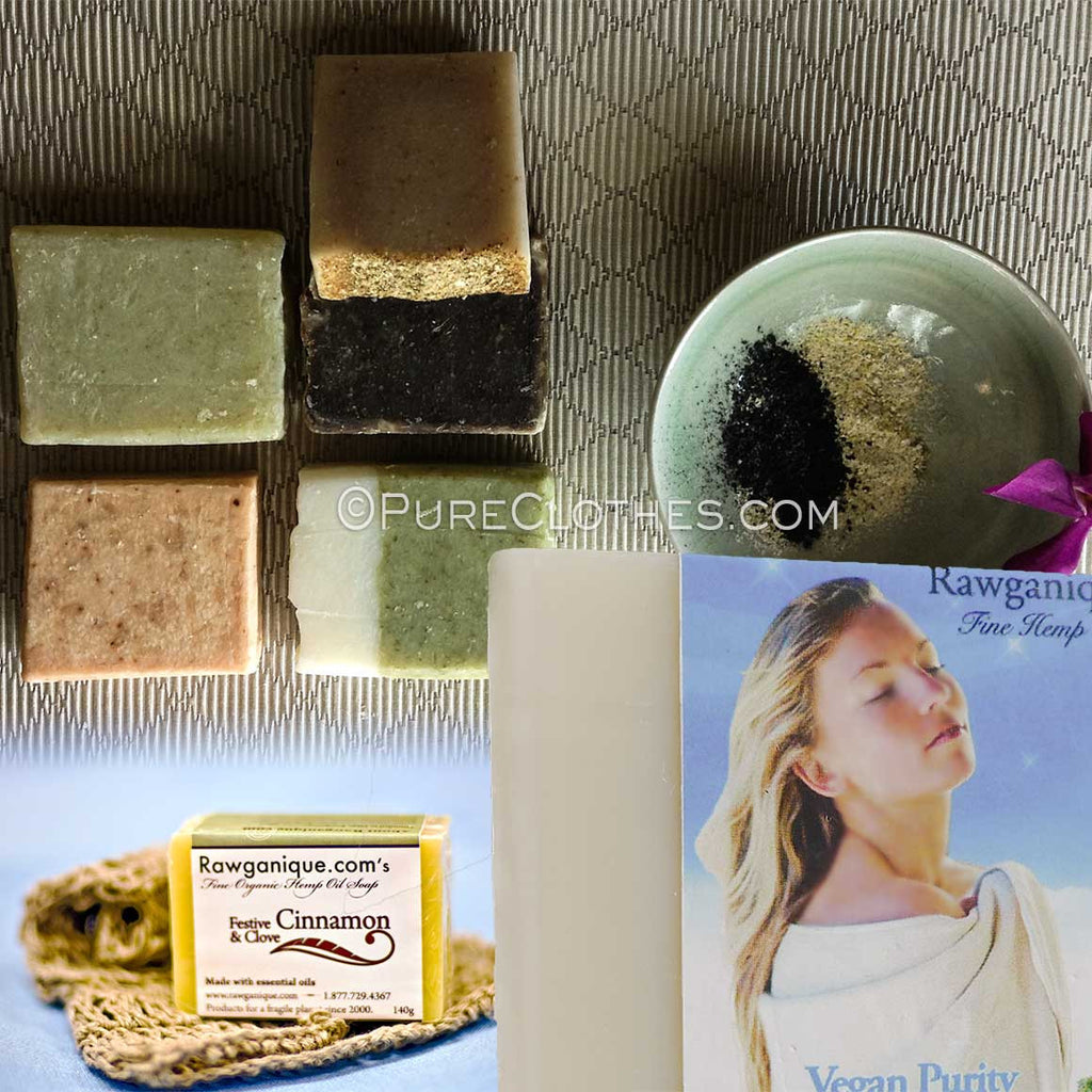 Organic Hemp Soap (vegan)