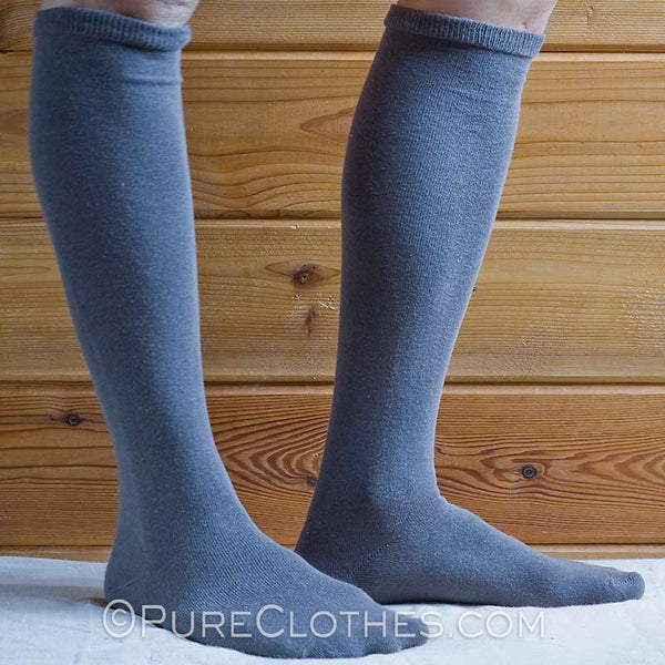 Organic Cotton Knee High Socks