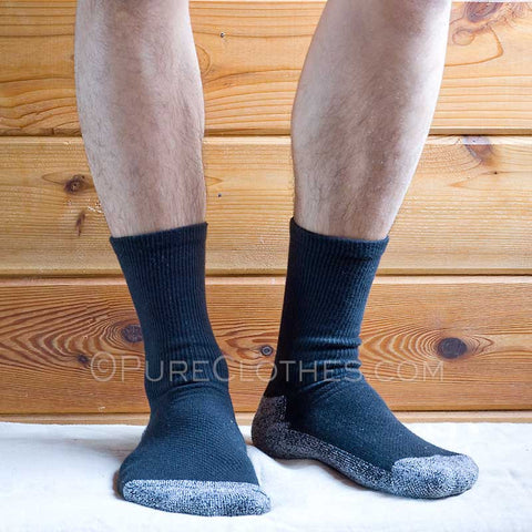 Organic Cotton Tennis Socks