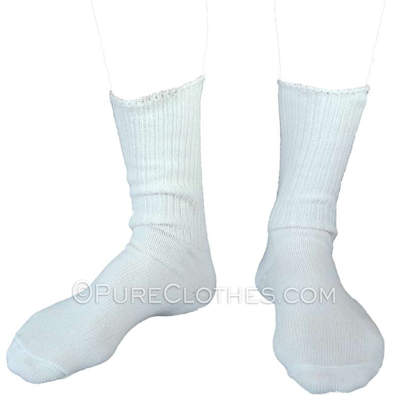 Organic Cotton Allergy Crew Socks