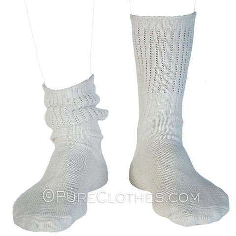 Organic Cotton Nuby Crew Socks