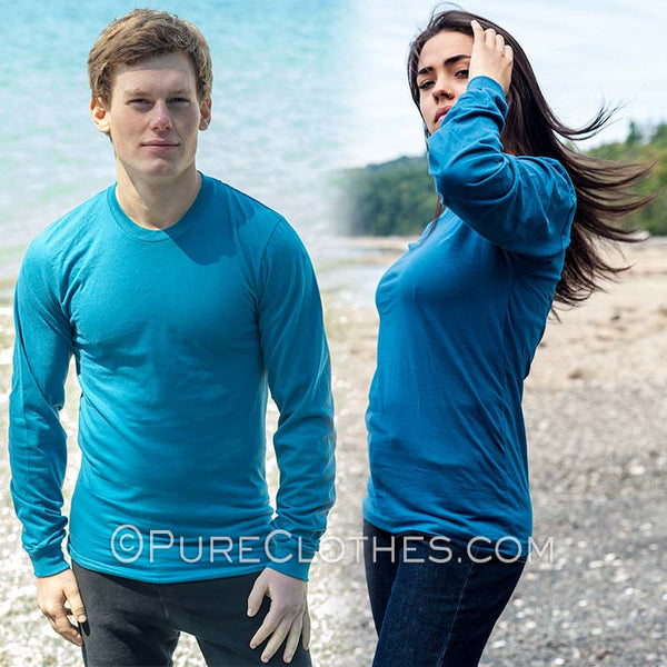 Long-sleeve Organic Cotton T-shirt
