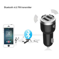 Bluetooth 4.0 Hi-Fi Bluetooth Rapid charging FM Transmitter Car Charger - BoardwalkBuy - 6