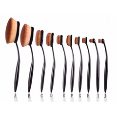 10 Piece Oval Brush Set - BoardwalkBuy - 3