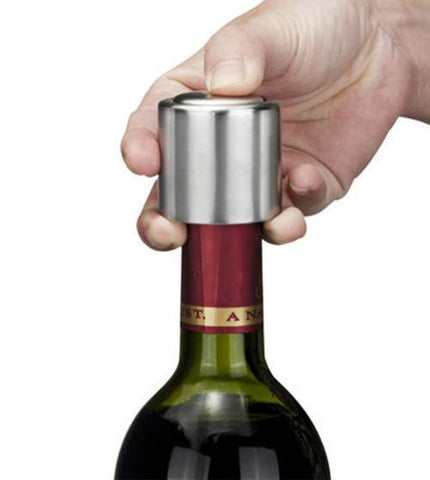 Stainless Steel Vacuum Wine Sealer