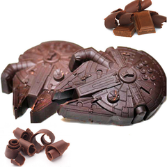 Star Wars Falcon Millenium Ice Mold and Baking Tray - BoardwalkBuy - 3