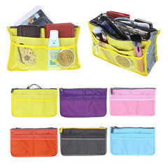 Slim Bag-in-Bag Purse Organizer - Assorted Color - BoardwalkBuy - 12