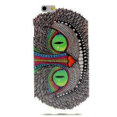 Owl Cartoon TPU Case for iPhone 6 Plus - BoardwalkBuy - 1