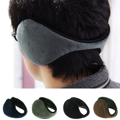 Unisex Fleece Ear Muff Wrap Band - Assorted Colors - BoardwalkBuy - 3