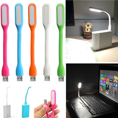 Portable LED USB Flashlight - Assorted Colors - BoardwalkBuy - 1