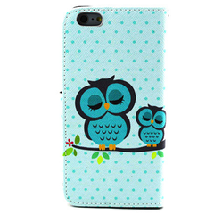 Owl Leather Stand Case For iPhone 6 Plus - BoardwalkBuy - 3