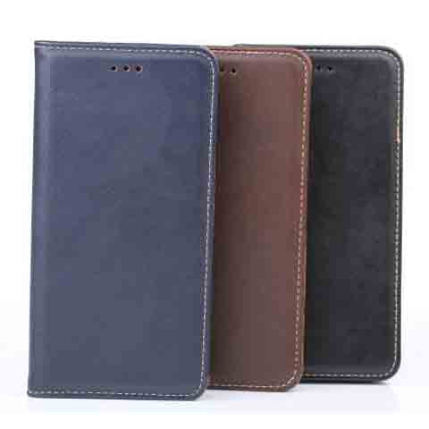 iphone 6 5.5inch Genuine Leather Wallet Case - BoardwalkBuy - 1
