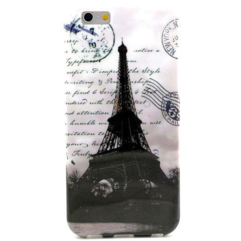 Retro Eiffel Tower TPU Case for iPhone 6 - BoardwalkBuy - 1