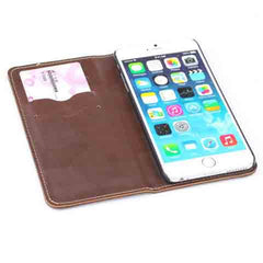 iphone 6 5.5inch Genuine Leather Wallet Case - BoardwalkBuy - 11