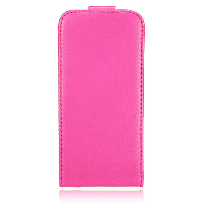Magnetic Flip Leather PU iPhone 5 Case - BoardwalkBuy - 1