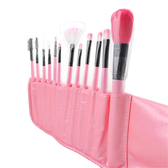 12 Piece Pink Glory Brush Set - BoardwalkBuy - 2