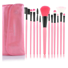 12 Piece Pink Glory Brush Set - BoardwalkBuy - 1