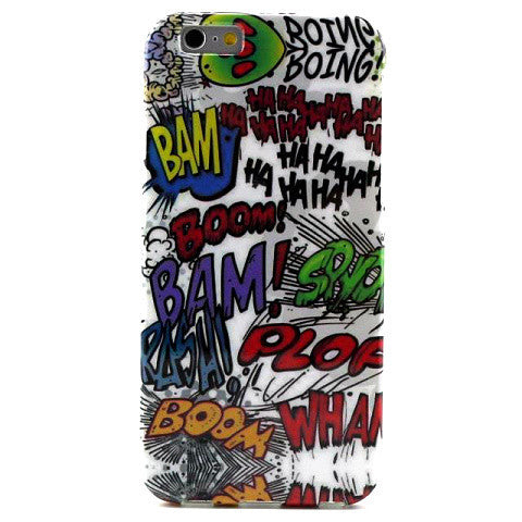 Graffiti TPU Case for iPhone 6 4.7 - BoardwalkBuy