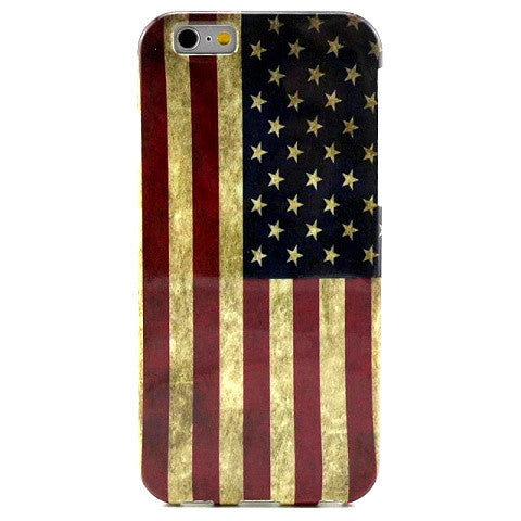 Retro Flag TPU Case for iPhone 6 Plus - BoardwalkBuy