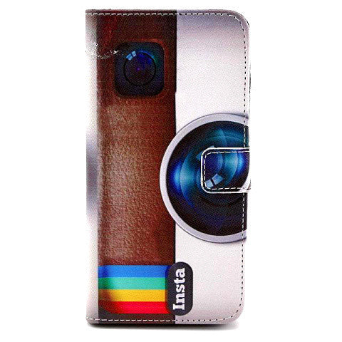 Retro Camera Leather Case for iPhone 6 - BoardwalkBuy - 1